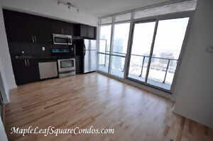 65 BREMNER - MAPLE LEAF SQUARE - 1 BEDROOM HIGH FLOOR (VIDEO)