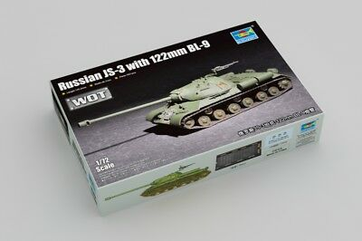 TRUMPETER® 07163 Russian JS-3 w/122mm BL-9 (WOT) in 1:72