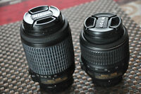 Nikon lenses / 55-200mm AND/OR 18-55mm