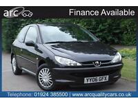 2006 Peugeot 206 1.4 Urban 3dr 3 door Hatchback