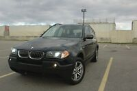 2005 BMW X3 SUV 3.0I AWD PREMIUM-PANORAMIC ROOF SAFETY& E-TEST