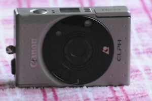 CANON ELPH CAMERA WITH ZOOM LENS 24-48MM F1:4.5-6.2
