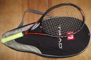 Wison Triad 6.0 Hammer Tennis Racket 4 1/4 Grip With Case