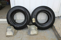 Never Used Trailer Tires 4.80/4.00 - 8 and Tire Tubes
