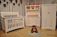 Baby Convertible Cribs+Nursery Sets+Swivel Gliders+Mattress+Baby