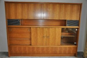 Mid-Century Teak Wall Unit