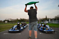 Part time service technician for our go kart facility,
