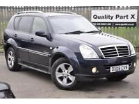2009 Ssangyong Rexton 2.7 TD SPR T-Tronic 5dr