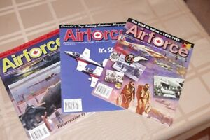 "Collection of ""AIR FORCE"" Magazines from RCAF Assoc. 1977 - 2016"