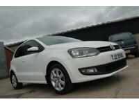 2012 VW VOLKSWAGEN POLO MATCH 1.4 PETROL 85 BHP ALLOYS WHITE *FINANCE AVAILABLE*