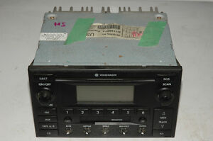 Radio Volks jetta 2003 (CD+cassette)