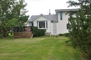 80 acre farm 62 km east of Edmonton 1,420 s.f. home 780 467 2217