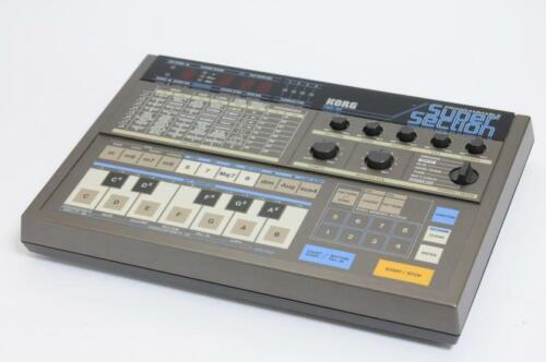 KORG pss-50 Super Section 80's Programmable Portable Drum Machine pss 50 2930