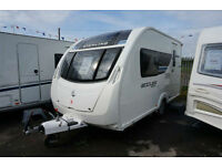 2012 STERLING ECCLES 382 SR - 2BERTH CARAVAN - ATC - SUNROOF - SOLAR -
