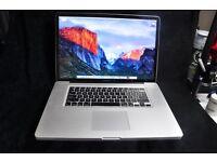 """MacBook Pro 17"""" i7 2.2ghz, 16gb RAM, SSD"""