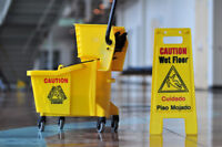 Entretien ménager commercial / Commercial cleaning service
