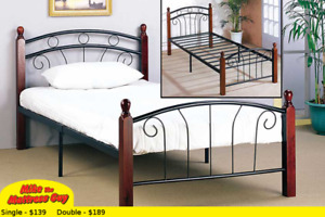 MIKES GOT THIS BED & MATTRESS FOR $179 - SEE OTHER STYLES HERE