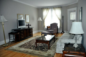 Great Deal! Fully Furnished 3 Bdrm Uptown Saint John