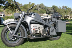 Looking for Zundapp or BMW motorbikes 1938-1945