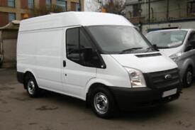 2012 FORD TRANSIT 280/100 SWB MEDIUM ROOF DIESEL VAN WITH ONLY 66.000 MILES,6 SP