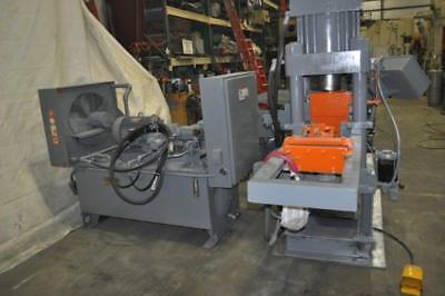 210 Ton Amd 4-post Hydraulic Automatic Bar Shear With Tooling Up To 2