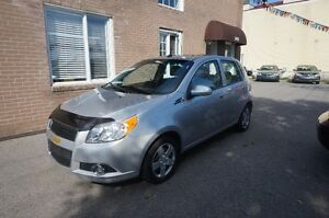 2011 Chevrolet Aveo 5 lt NEGOCIABLE