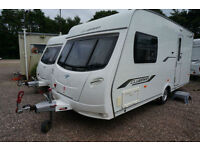 2010 LUNAR CLUBMAN 475 CK 2 BERTH CARAVAN - END WASHROOM - ALDE HEATING