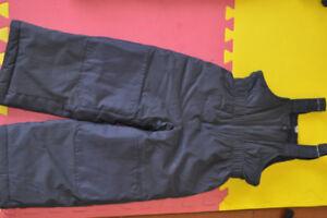 winter boy snow pant size 4-7