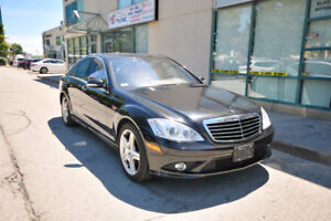2008 Mercedes S450 4MATIC AMG Sport Package/CERTIFIED!