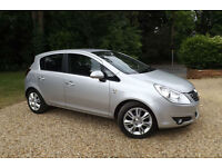2010 60 Vauxhall Corsa 1.4i 16v SE AUTOMATIC 100 PS 35K LOW MILES FSH AIR CON CD