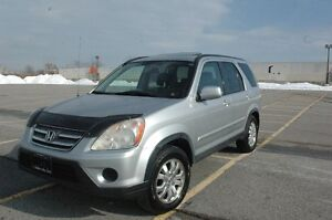 2005 CR-V EX-L AWD LEATHER/SUNROOF CERTIFIED & E-TEST