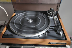 DUAL 704 direct drive,  option; audiotechnica at14