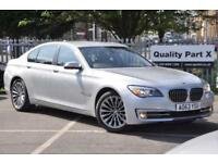 2014 BMW 7 Series 3.0 730d SE 4dr (start/stop)