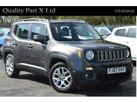 2017 Jeep Renegade 1.4T MultiAirII Longitude DDCT (s/s) 5dr SUV Petrol Automatic