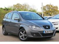 SEAT ALTEA XL 1.6 TDI CR ECOMOTIVE I TECH DIESEL 2014 14 REG MONSOON GREY