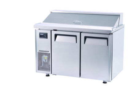 Turbo Air KHR12-2 Two Door Salad Side Prep Hood Lid Bench Fridge Underwood Logan Area Preview