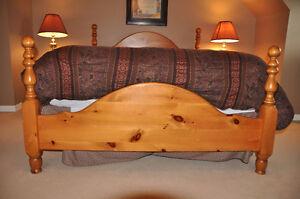 Solid Pine Bedroom Set Cambridge Kitchener Area image 3