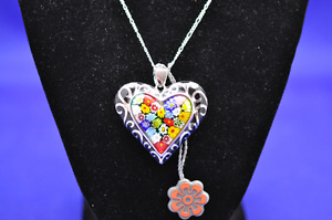 Brand New Large Murano Necklace by Alan K
