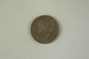 New Brunswick 1864 Five Cent Coin