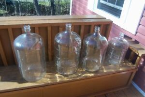 Carboys for wine or beer making----23 Litres size --5 available!