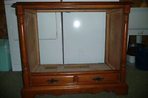 Vintage Wooden TV Shell
