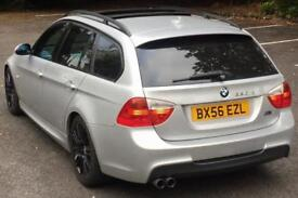 BMW 330D M SPORT AUTOMATIC+TILT+SLIDE PANROOF+HEATED SEATS+SAT NAV+XENONS