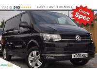 VW Transporter NO VAT AIR CON T28 DSG AUTO 201 BHP!TDI P/V HIGHLINE
