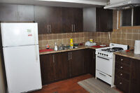 A spacious room in basement rent at Malton for Female or Couple