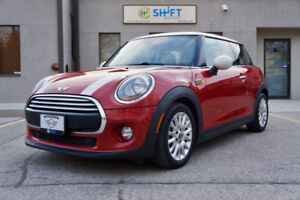 2014 MINI COOPER WITH LOADED PACKAGE, PANO ROOF, HEATED SEATS