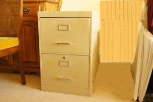 File cabinet,  2 drawers