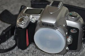 Vintage NIKON N75 35 mm Autofocus Body Only with New Batteries