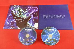 Infamous-Press-Kit-RARE-1328-2800-Sony-PlayStation-3-Region-Free