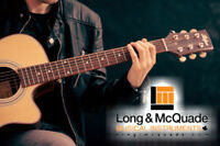 GUITAR LESSONS in North York (Long & McQuade)