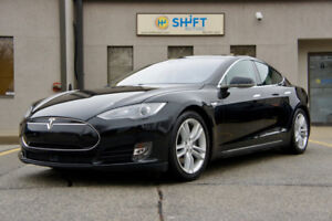 2015 TESLA MODEL S 70D AUTOPILOT, SMART AIR SUSPENSION